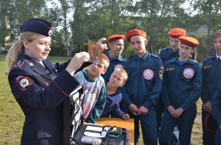 Фотография к материалу: В Кунгурском районе прошли соревнования «Школа безопасности - 2018»