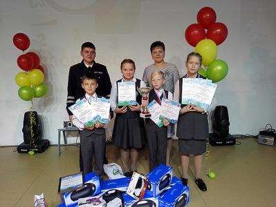 Фотография к материалу: Команда Кунгура стала победителем краевого конкурса «Безопасное колесо»