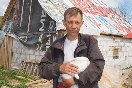 Фотография к материалу: Житель Перми Александр Мельников стал фермером в Кунгурском районе