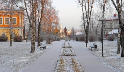 Фотография к материалу: Погода в Кунгуре: похолодание без снега