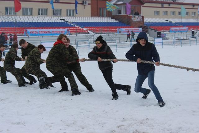 Военно-спортивные игры Пермского края