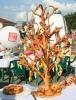 Хлебное дерево выросло на Соборной площади в Кунгуре. Здесь состязались кулинары