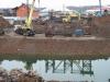 Путепровод ждет новую строительную организацию. Идет бурение скважин для опор моста
