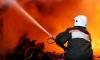 Из-за крутизны берега реки возникли трудности при тушении пожара в селе Плеханово