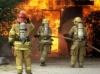 В Кунгуре сгорел дом из-за неисправной печи. Пожарным удалось отстоять соседние дома