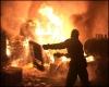 В Кунгурском районе сгорел дом сторожа дачной деревни
