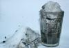 Серый снег в Кунгуре