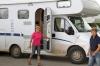 В Кунгур приехали туристы из Германии в своих домах