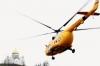 """Воздушный """"паломник"""". Губернатор Пермского края прилетел на Белую гору на вертолете"""